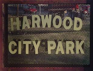 Picture of Harwood Park Sign
