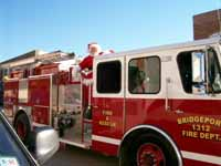 Photo of Santa of Fire Truck